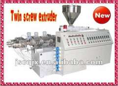SJSZ80 Conical Twin Screw Plastic Extruder for PVC PP PE