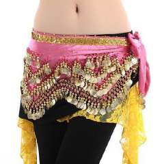 Belly dance waist chain | 320 gold stage performances Yao Jin | Multicolor