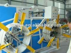 2-station Automatic Plastic Pipe Coiler SPS-400