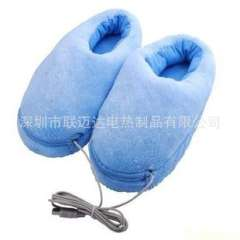 Supply quality export USB heating slippers, USB electric slippers, far infrared heat