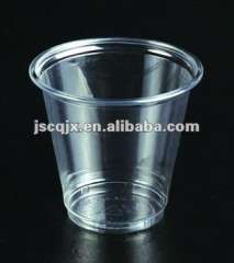 Disposable Clear Plastic PP 5oz, 6oz, 7oz Water\Milk\Coffee\Juice Cup with Cover