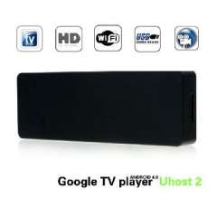 UHOST 2 second-generation Google HD player | RK3066 dual core 1G / 4G with Bluetooth | Black