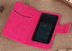 Universal Wallet-Style Leather Case for Smartphones