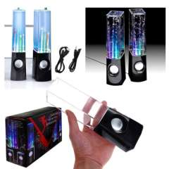 Water Dancing Fountain Light Portable Audio LED Speakers for Cell Phone&PC&Tablets&MP3\MP4