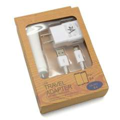 3 in 1 Travel Charger for Samsung S4 I9500