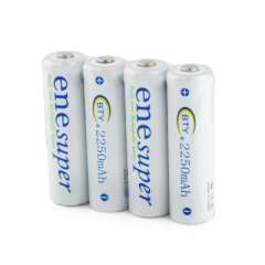 BTY rechargeable battery AA 1.2V 2250mAh 4 granulocyte row | energy saving | can hold a charge for a long time