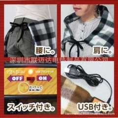 Supply of quality 5V USB heating blanket small, versatile, warm shoulder, warm back, warm belly, leg warmers