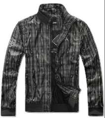 2012 new men's classic casual checkered jacket | jacket M / L / XL / XXL / XXXL