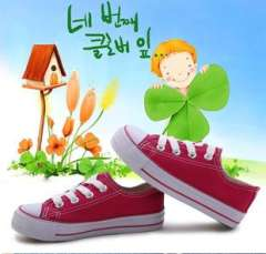 Children, boys and girls candy colors wholesale | Velcro classic canvas shoes lace shoes shoes trade of the original veneer