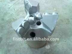 3 blades diamond PDC drill bit for well drilling