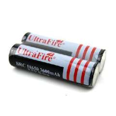 3.7V 18650 3600mAh rechargeable lithium battery