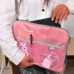 Apple IPAD multifunction pouch | package bag | Pink