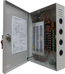 Multiple Channel CCTV Power Supply Unit