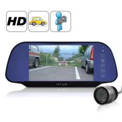 7 Inch High Definition Rear View Monitor + Rear View Camera - 800X480, 4: 3, 16: 9