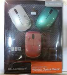 Wireless Optical Mouse | with 3 color shell