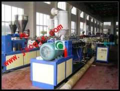 SJSZ51\105 16-50mm PVC Twin Pipe Extrusion Line with competitive price