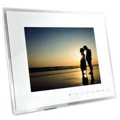 Digital Photo Frame + Media Player - 12 Inch LCD Screen