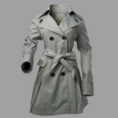 2012 new autumn and winter long section | Ms. Slim lapel coat | double-breasted coat M / L / XL / XXL