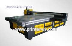Format digital flatbed UV printer with low cost wide
