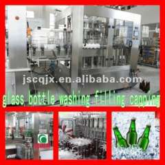 Glass Bottle Soft Drink Filling Machine 2000B\h@500ml