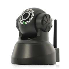 Wireless IP Security Camera - 1\4 Inch CMOS, Pan\Tilt, P2p Remote Viewing