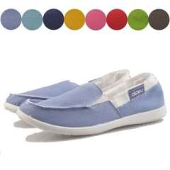 New Korean version of the candy colored shoes | Light a pedal lazy shoes | help low elastic women canvas shoes
