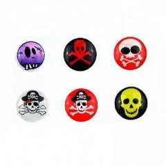 Skull 0041 IPAD IPHONE ITOUCH button stickers