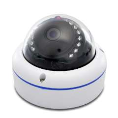 H. 264 Mini Dome IP Camera - WDR, Night Vision, 720p, Motion Detection