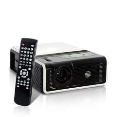 HD LED Projector - Built-in DVD Player, 120 Lumens, 800: 1