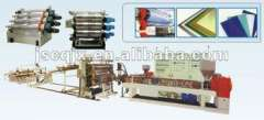 Plastic PP Corrugated sheet Extrusion machine\plant