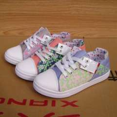Small mixed batch of Korean Taobao explosion models plaid rubber sole lacing women canvas shoes 6808