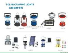 Solar camping light / small lantern
