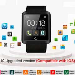 Smart Watch U10L Bluetooth 3.0 Mobile Android 4.4 Compatible Ios Android Mobile Phone