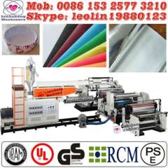2014 New small extrusion blow moulding machine