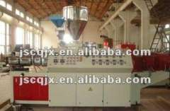 SJSZ Conical Twin Screw Extruder for PP, PE, PS, PVC, PET
