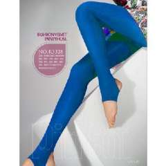 European retro 80D Velvet step foot pants | royal blue