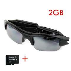 2GTF card + multifunction glasses | Video + camera + recording + Webcam | Card | TF card
