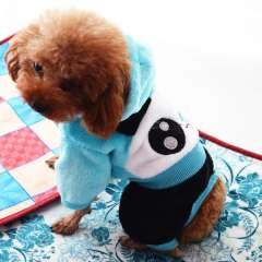 Brand New Pet transfiguration Panda Dog Clothes Fall and Winter Clothes Pet Dog Winter Coat Four Legs S M L XL XXL Blue Pink