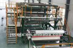 Wide Plastic Flooring, Water-proof Coiled Sheet Production Line