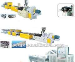 Well Performance Plastic Extruder Pipe Line