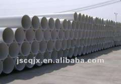 Plastic PVC water pipe extrusion line with competitive price