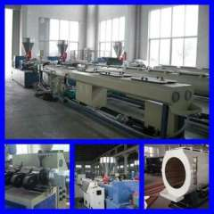 PVC-U PVC inner-spiral Drain Pipe Production Line