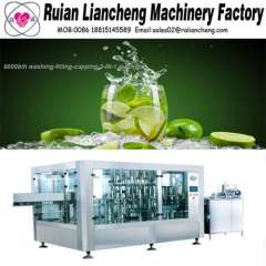 Filling machine manufacturing company and carbonated soft drink beverage filling machine