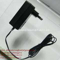 Supply power adapter with certificates