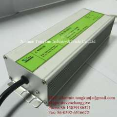 120W Waterproof Constant Current LED Power Supply For High Power Light