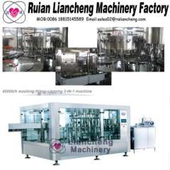 Filling machine manufacturing company and soft drinks washing filling capping machine