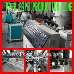 Cold Hot Water Transportation PP-R Pipe Extrusion line