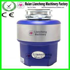 Grey color garbage disposal 2 stage grinding and food waste disposal equipment