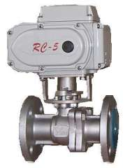 Electric lined ball valve, electric stainless steel ball valve, electric two-way valve