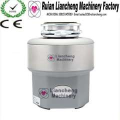 Kitchen Food Waste Disposer LC-750A With double hollow structured and with air switch control